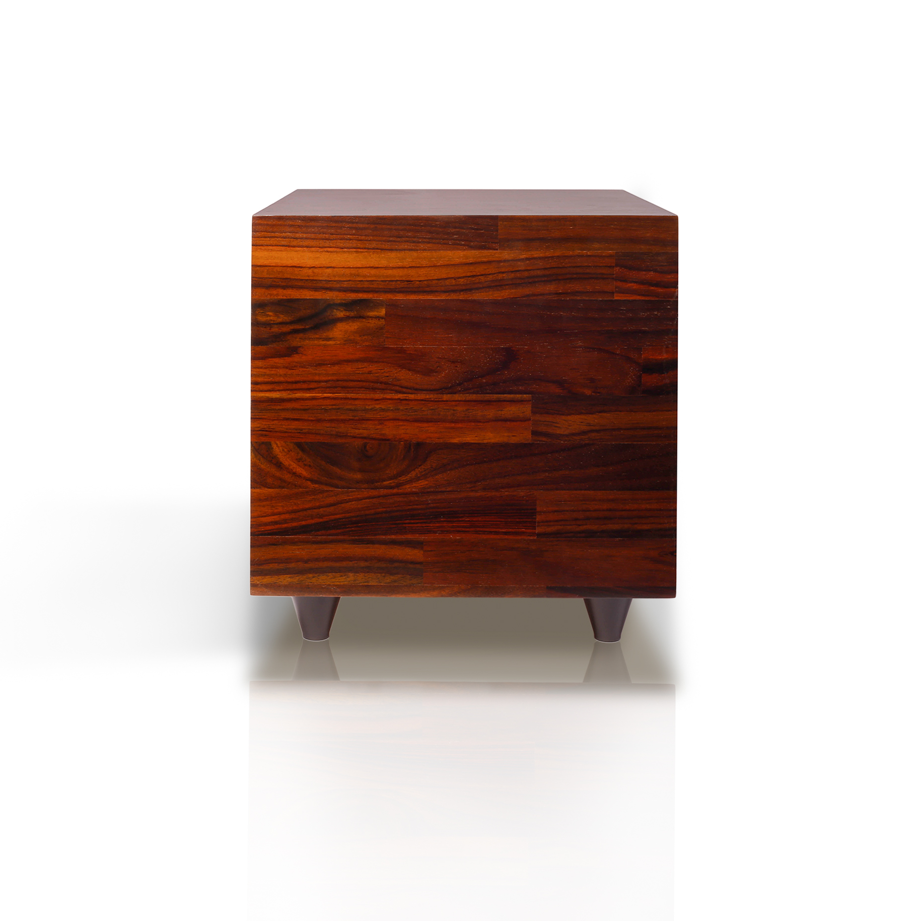 rosewood subwoofer front