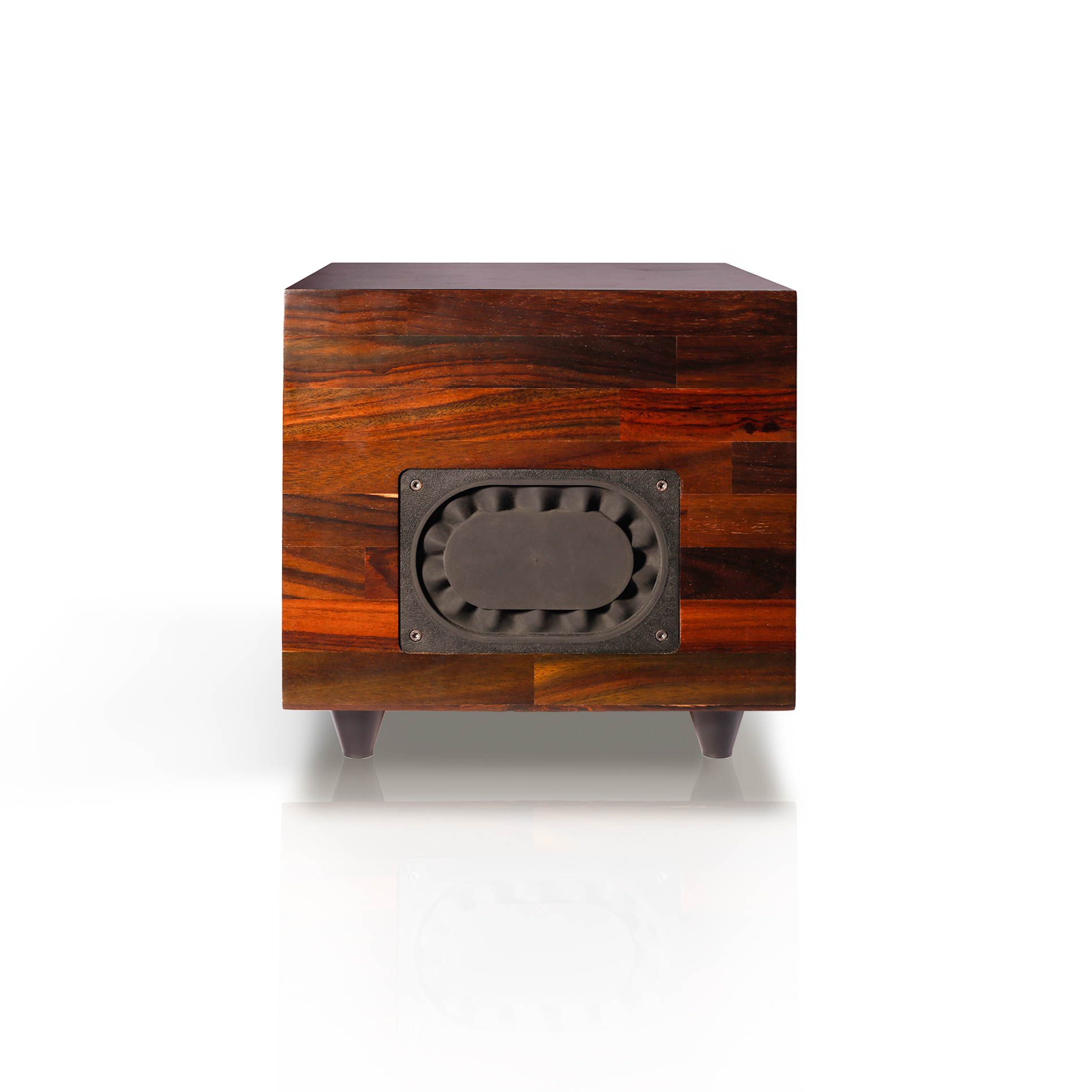rosewood subwoofer side