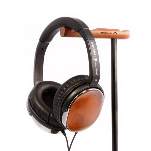 e-mu walnut headphone